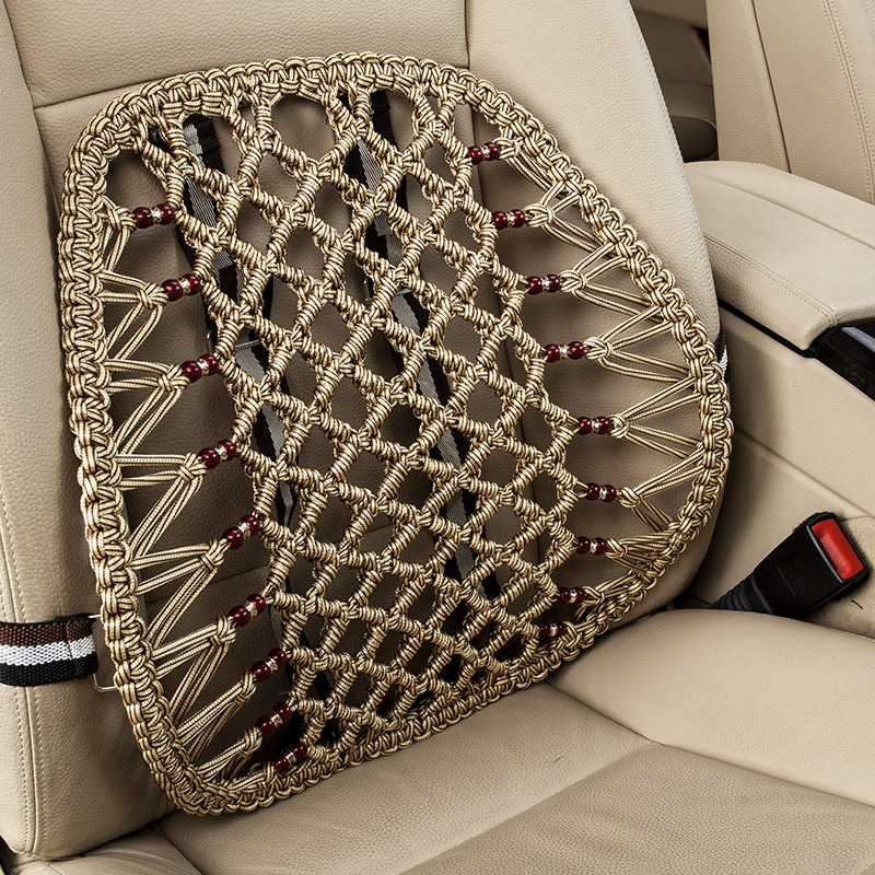 Car lumbar cushion four seasons winter memory foam backrest lumbar cushion waist by car waist lumbar pad cushions office student