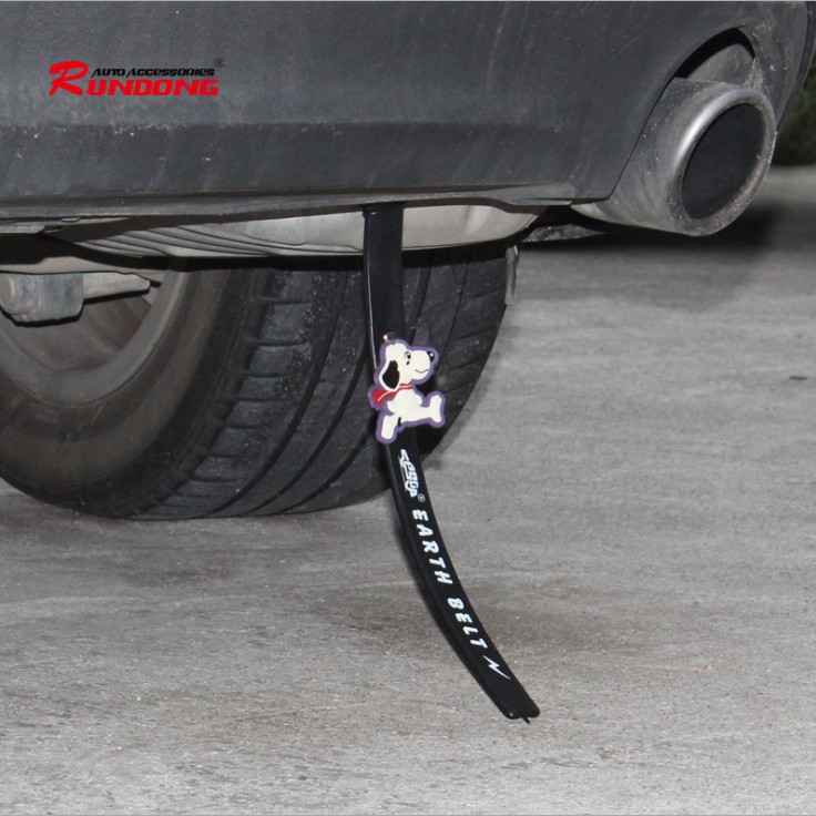 Car proton car with a static wrist strap cartoon car antistatic grounding strip static eliminator car static elimination with