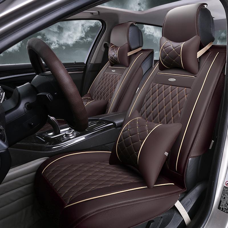 Get Quotations Car Seat Cushion Summer Pu Leather Mats