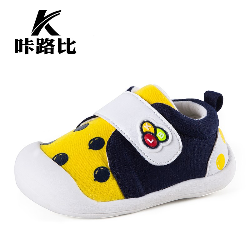 Carbazole road than spring and summer models baby toddler shoes soft bottom canvas shoes breathable functional shoes children sandals baby male and female infants and children