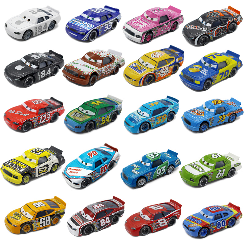 Cars cars 2 racing number no. 123 no. 8 no. 84 alloy car model children's toys gift