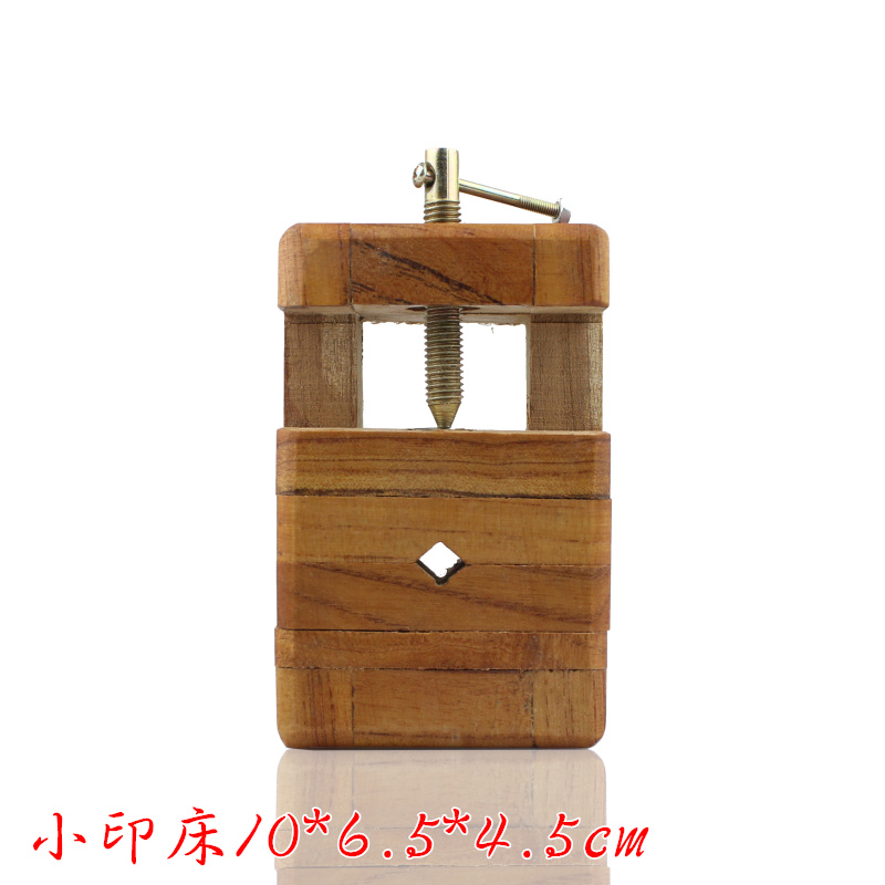 Carving tools wooden indian bed fixed square carved bed fixture indian stone seal stone chapter engraving wood carving craft trumpet