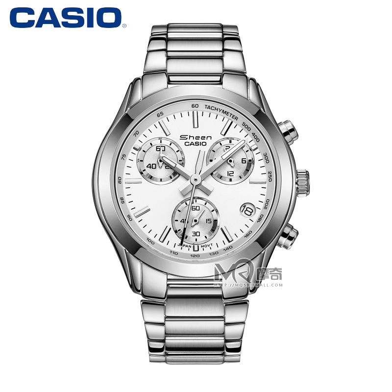 Casio casio ladies watch ladies quartz steel ladies watches fashion diamond watch shn-5000bp-7a
