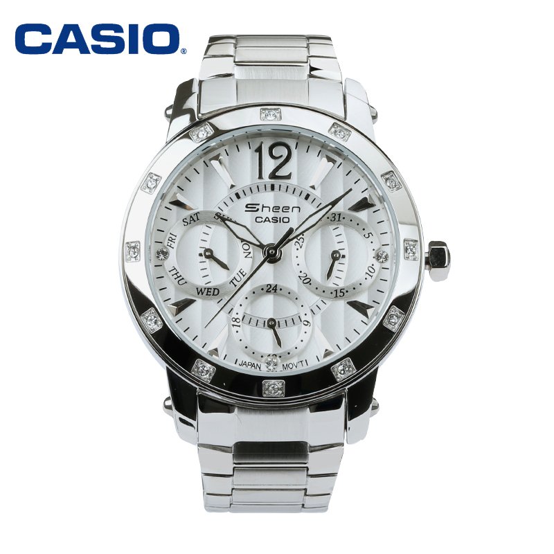 Casio casio ladies watches fashion diamond ladies watch free shipping shn-3012D-7A