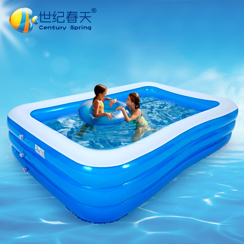 Century spring oversized inflatable baby pool baby pool family swimming pool ball thickening adult children swimming pool