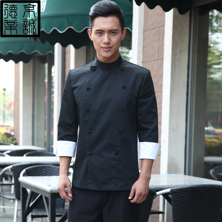Ceri german industry hotel chef uniforms chef clothing long sleeve fall and winter clothes