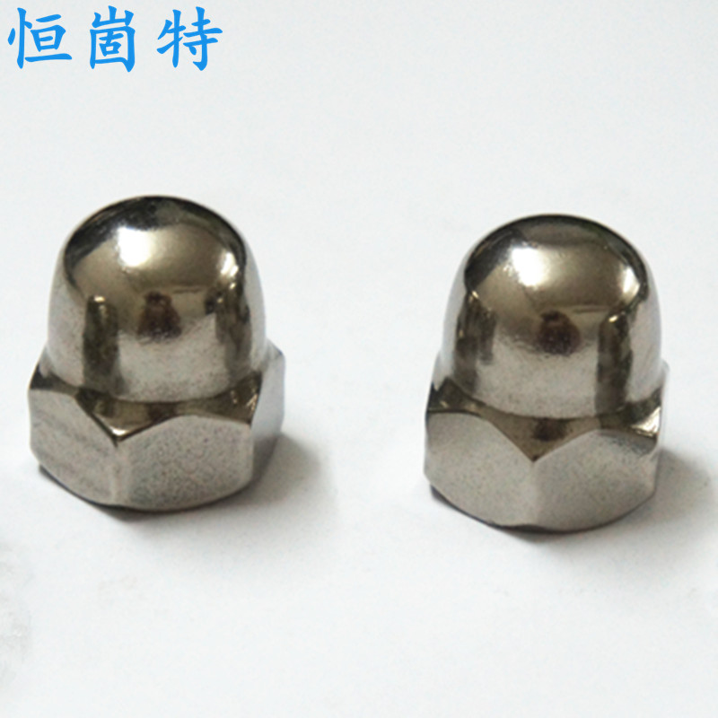Cheap authentic 304 stainless steel cap nuts cap nut decorative nut cap nut m4-m20
