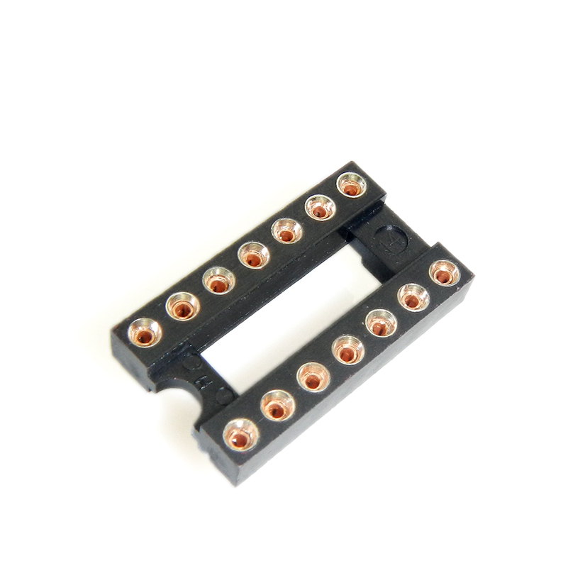 Cheap authentic fei bite p hole ic socket round hole block block ic socket slot connector