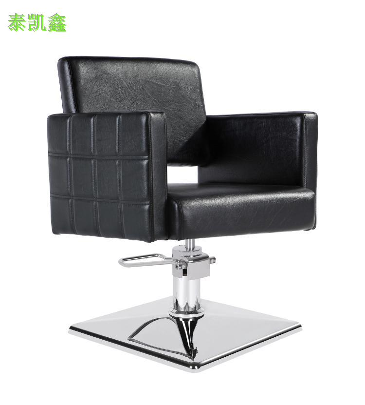 Cheap barber chair factory direct black haircut chair salon chair barber chair salon chair salon chair