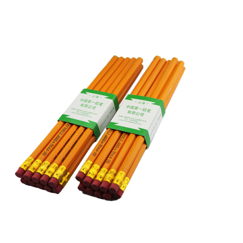 Cheap china great wall 3544 pencil yellow lever skin head pencil hb pencil students children cheap kunming