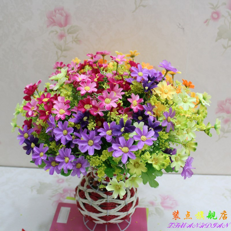 China silk flower garden china silk flower garden shopping guide at get quotations cheap plastic flower artificial flowers silk flower garden daisy artificial flowers silk flower single branch decorative mightylinksfo
