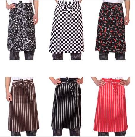 Chef clothing chef aprons fancy department waist apron chef apron kitchen supplies generic