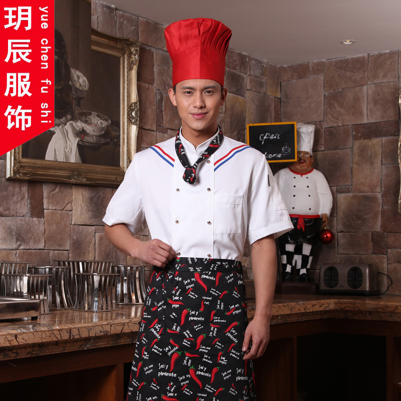 Chef service hotel chef clothing summer short sleeve chef restaurant chef uniforms hotel restaurant chef chef clothing