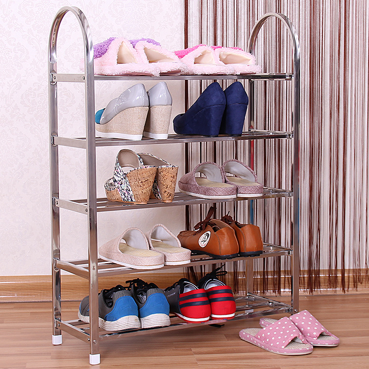 Chen yi gifted a thick reinforced multilayer stainless steel shoe shoe shoe dust simple shoe storage rack dormitory economical