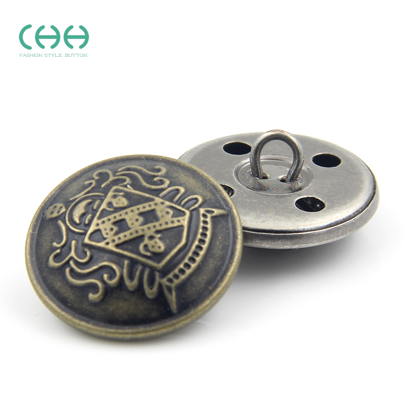Chh clothing copper buttons metal buttons vintage men's suits ladieswear button sweater buckle buckle cardigan clothes