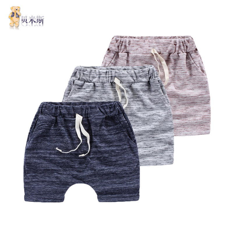 Children boy shorts summer shorts harem pants 2016 new children's summer shorts boy shorts tide thin section
