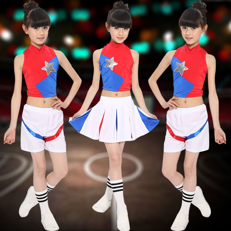 Children dance clothes costumes performance clothing infant clothing cheerleader cheerleading clothes aerobics performance clothing ethnic men and women