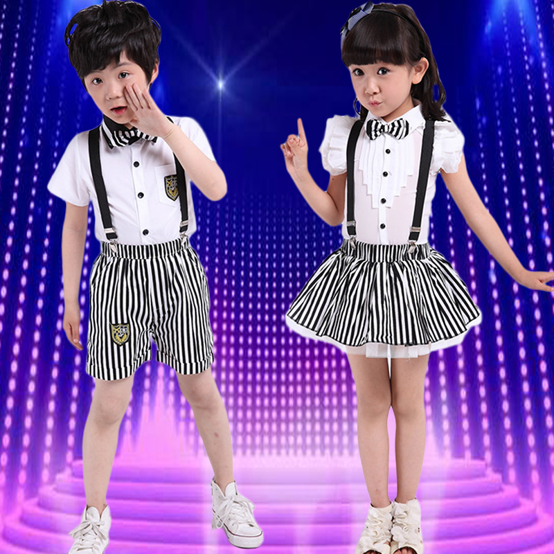 Children modern dance costumes children costumes performance clothing ds costumes hip-hop jazz dance performance clothing for men and women
