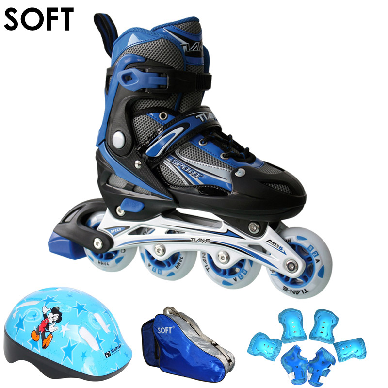 Children skates children skates whole suit for men and women skate skates inline skates inline skates adjustable flash