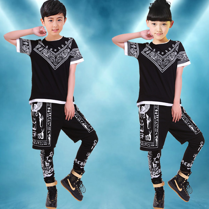 Children's costumes children's dance costumes jazz dance hip hop dance performance clothing performance clothing for boys and young children