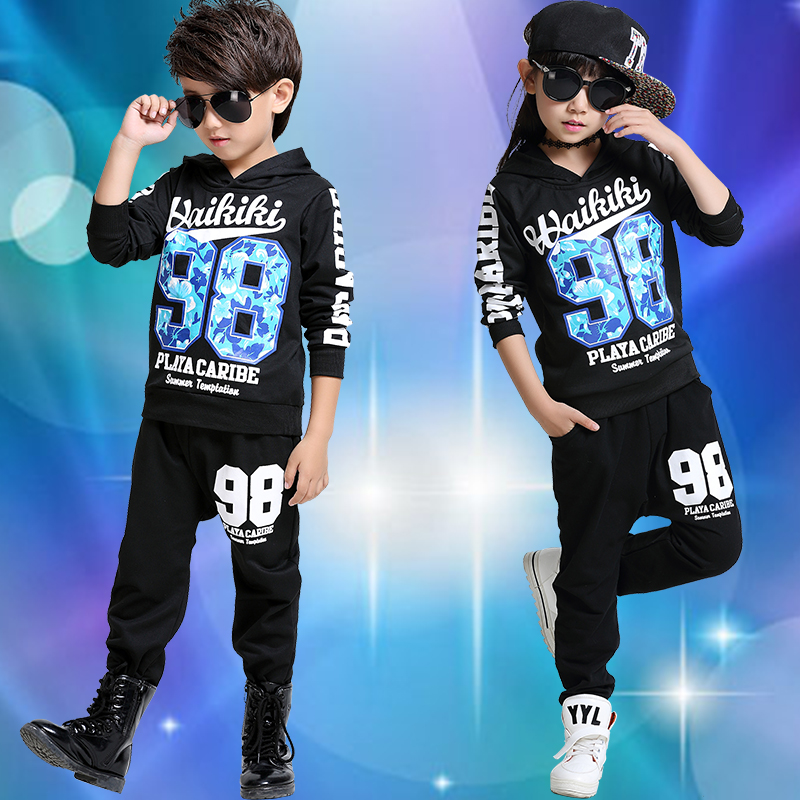 Children's costumes children's hip-hop hiphop hip hop jazz dance hip-hop dance performance clothing infant boy performance clothing