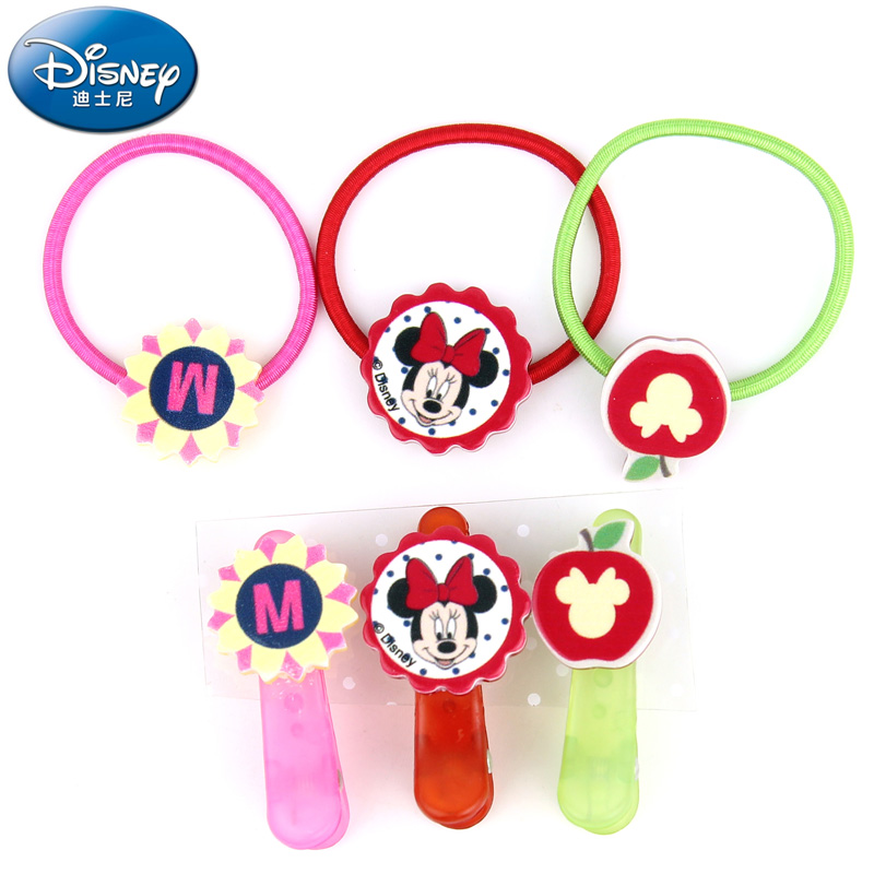 Children's hair rope hairpin suit disney minnie girls jewelry princess jewelry children headdress baby suit