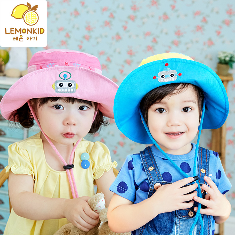 1069146b7ef Get Quotations · Children s hats spring and summer sun hat 1-2-4 years old baby  sun