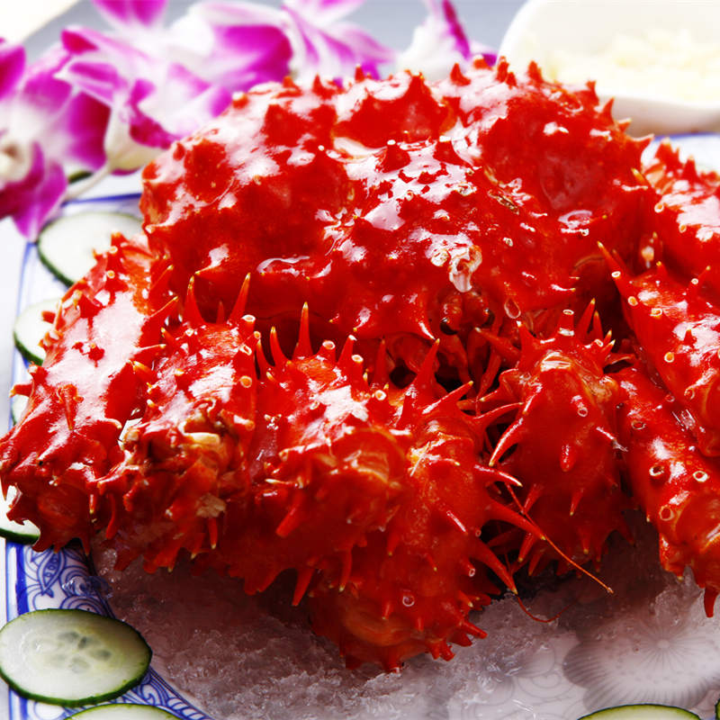 Chile king crab imports of 3.2-3.6 of fresh seafood cooked frozen king crab crab crab tool to send