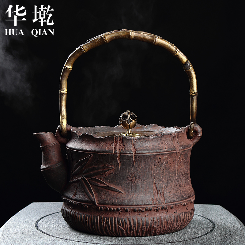 Chinaå¢iron pot uncoated cast iron pot iron teapot southern japan iron kettle old iron kettle pot teapot cast iron pot hsinchu