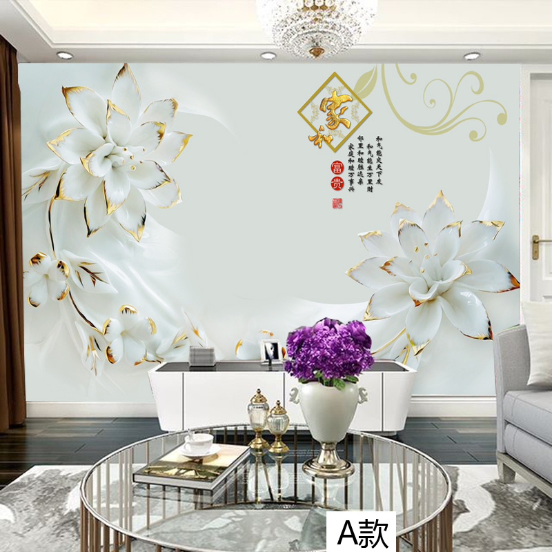 Chinese 3d stereoscopic video wallpaper background wallpaper the living room tv wall wallpaper wall paintings painting the living room bedroom tv wall covering