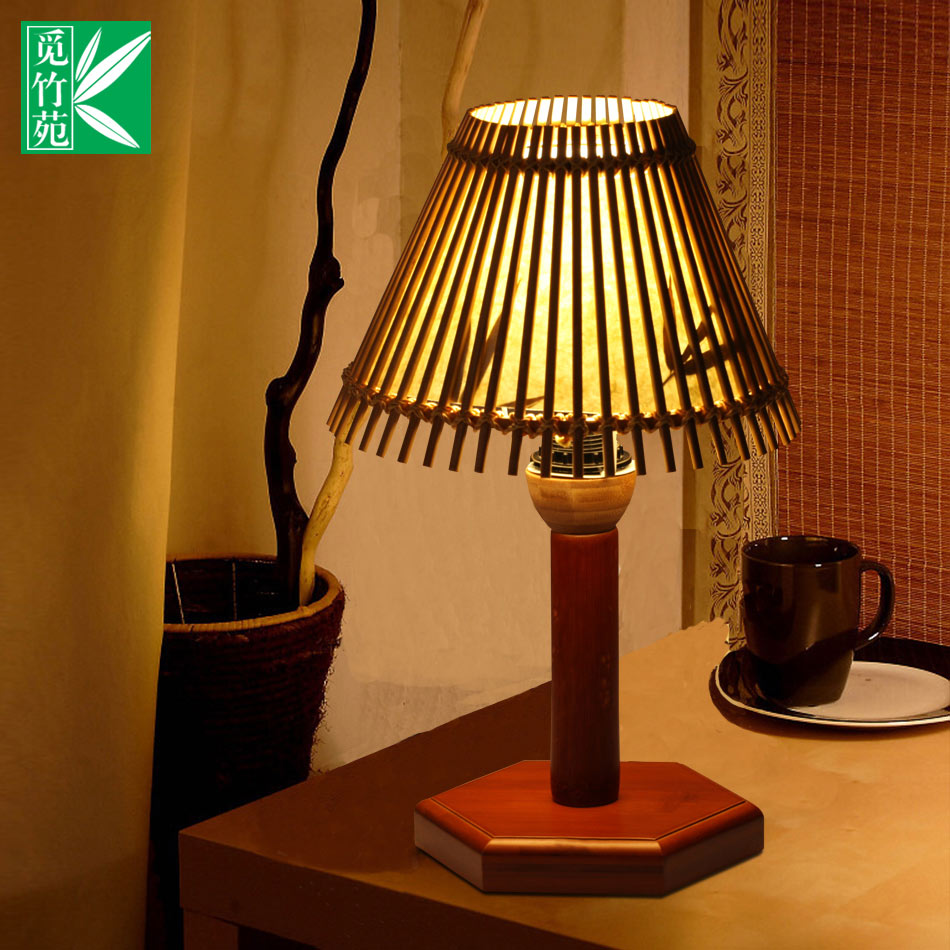 China classical bamboo lamp china classical bamboo lamp shopping get quotations chinese classical lighting fixtures cozy living room bamboo bedroom lamp study desk lamp bedside lamp decorative arubaitofo Gallery