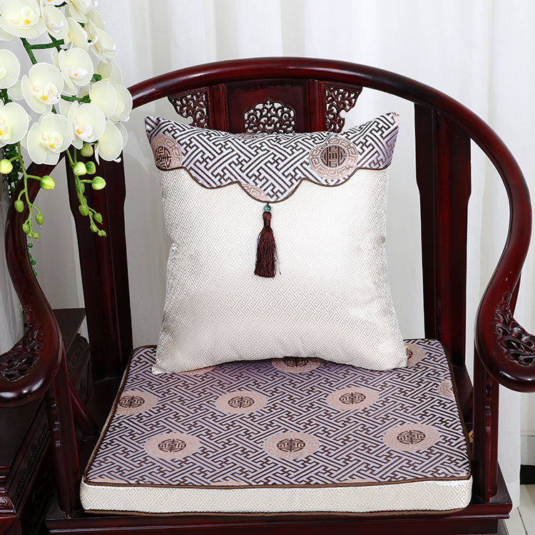Chinese classical red wood sofa cushion chair armchairs 8cm sponge cushion seat cushion custom suit