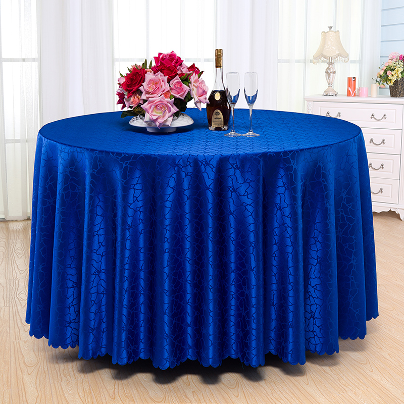 Chinese hotel round tablecloth hotel tablecloth banquet banquet red beige coffee table cloth table cloth tablecloth