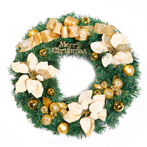 Chinese statue 40 cm/50 cm/60cm door hanging christmas wreath christmas decorations christmas ornaments showcase
