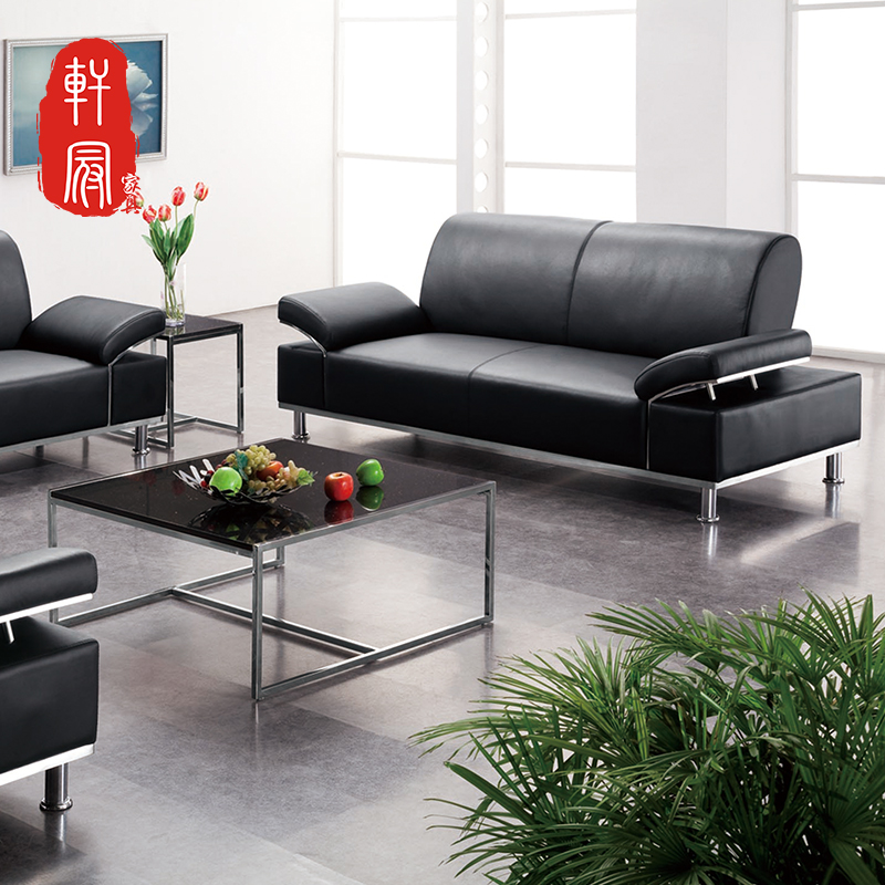 Chongqing shanghai business minimalist modern office furniture business reception parlor sofa sofa sofa office sofa sipi