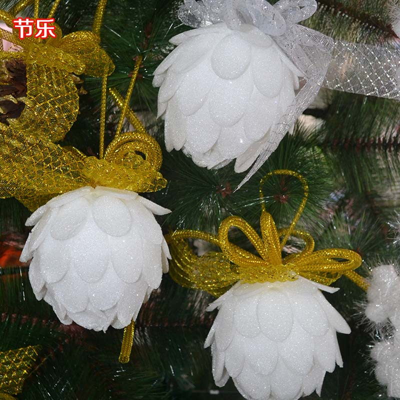 Christmas decorations christmas ball ornaments hanging pendant pendant large bouquet christmas gift