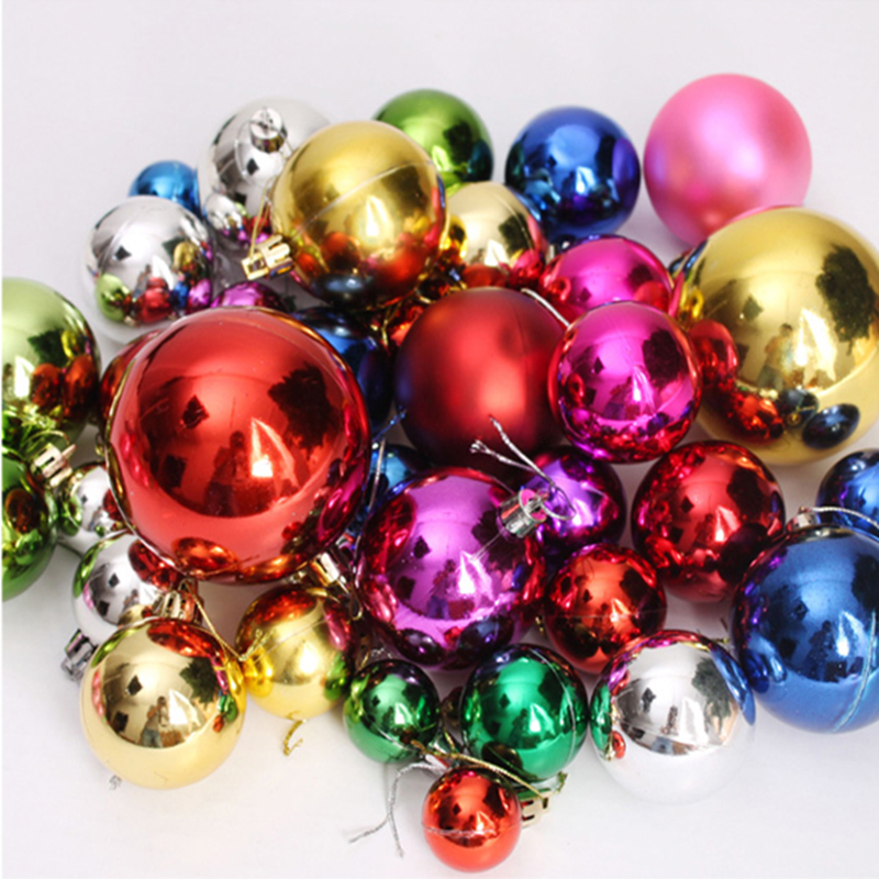 Christmas decorations christmas ornaments christmas tree decoration ball flash suits ceiling ball