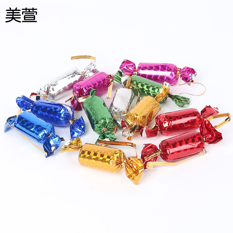 Christmas decorations christmas package christmas tree decoration accessories decorative pendant candy candy 12