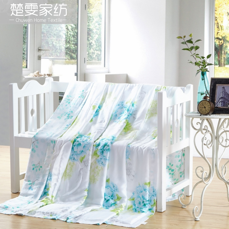 Chu wen textile sided tencel tencel 2016 new children's single double 100% summer air conditioning is cool in the summer