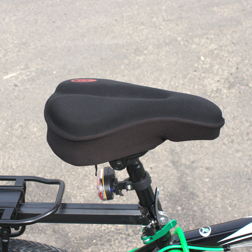 Chun ride bicycle equipment accessories bicycle riding mountain bike seat cover 3d silicone cushion cover seat cover seat cover