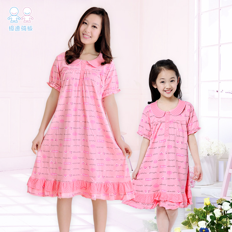 get quotations clearance childrens pajamas girls nightgowns cotton summer baby princess korean childrens clothing girls dress paternity - Girls Christmas Nightgowns