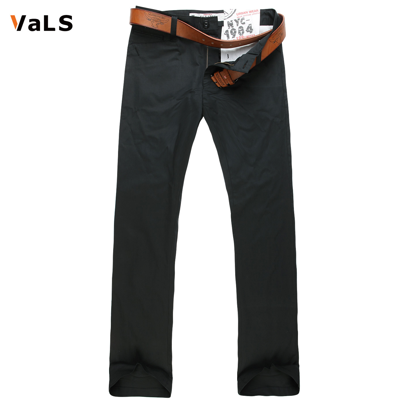 [Clearance] spring and autumn men's casual pants men straight slim casual solid color simple wild paragraph long