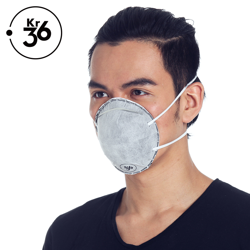 Cm dprk-us krypton masks dust masks activated carbon headset cup n95 particulate respirator masks for men and 20 loaded