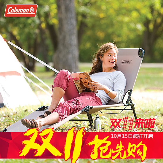 Coleman coleman outdoor folding bed cot bed twin bed garden bed bed bed siesta chair recliner chair