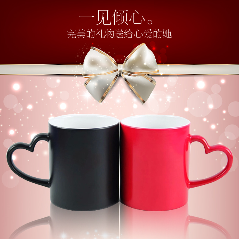 Color cup custom color cup couple color cup diy personalized custom color cup custom photo mug cup