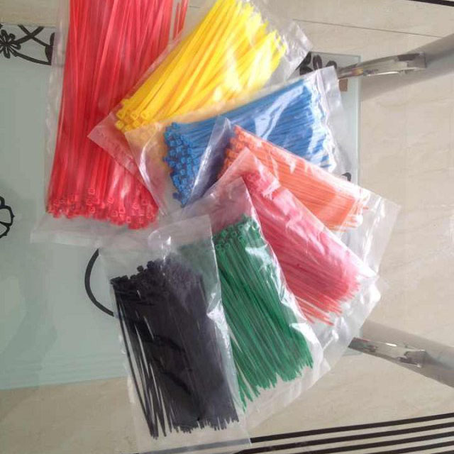 Color tie tie line with multicolored nylon cable ties cable tie 3.6 * 200mm gb wholesale