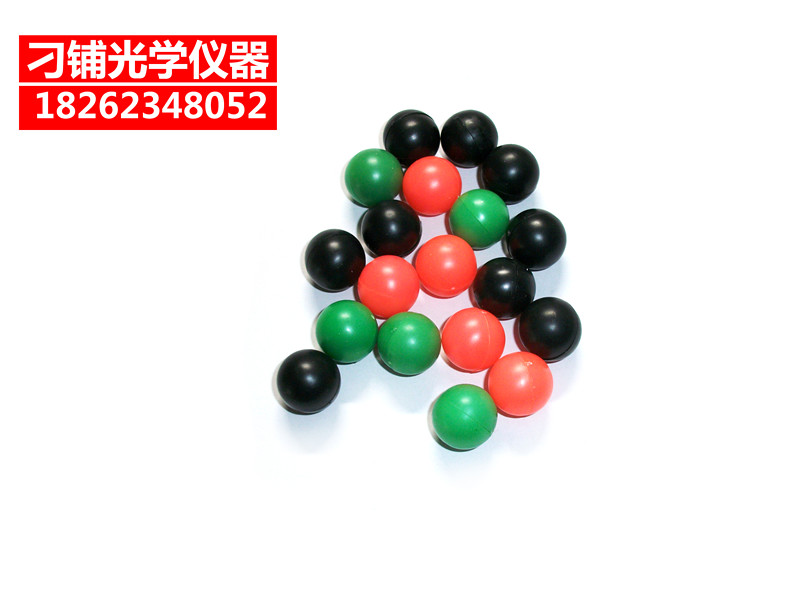 Colored plastic beads/diameter of about 15mm/tricolor 20507/elementary school science mathematics probability demo