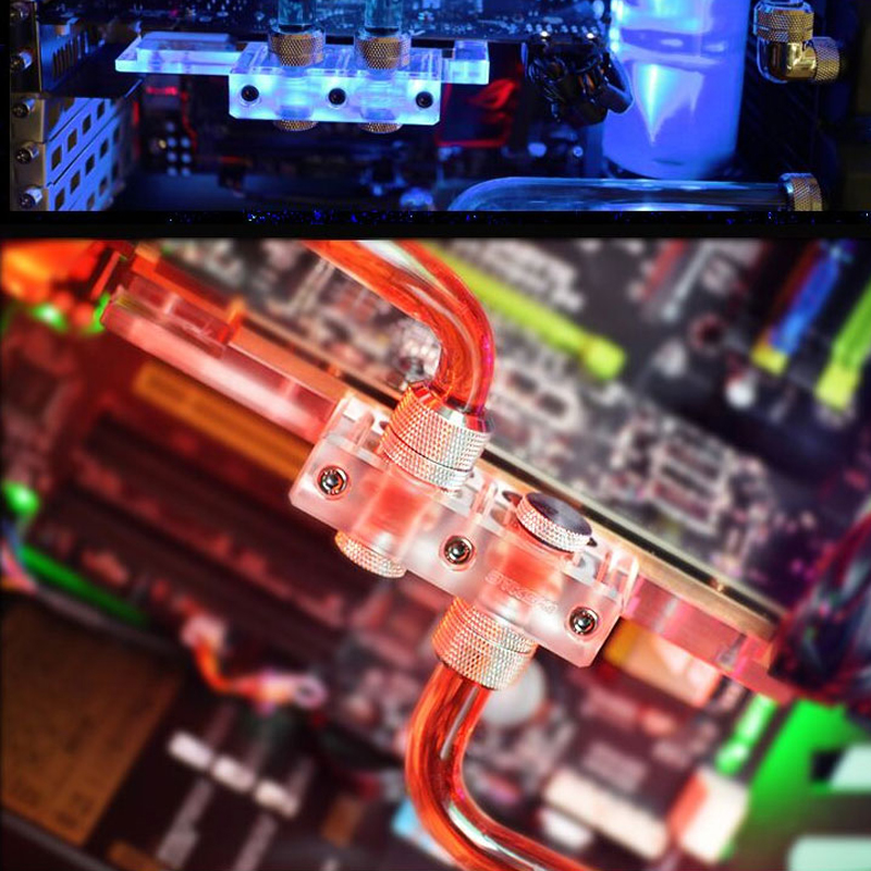 Colorful igame970 flames ares x-4gd5 gtx970 graphics card waterblock full custom cover