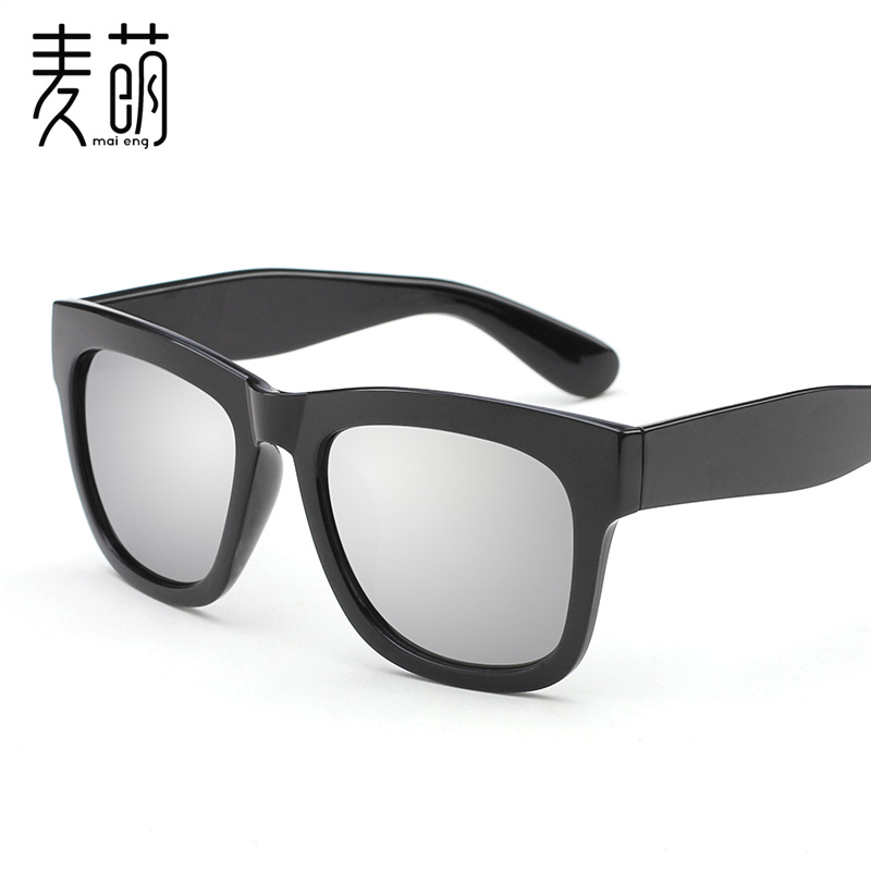 e57ccdafe61 Get Quotations · Colorful sunglasses for men and women reflective sunglasses  black sunglasses for men and women korean retro