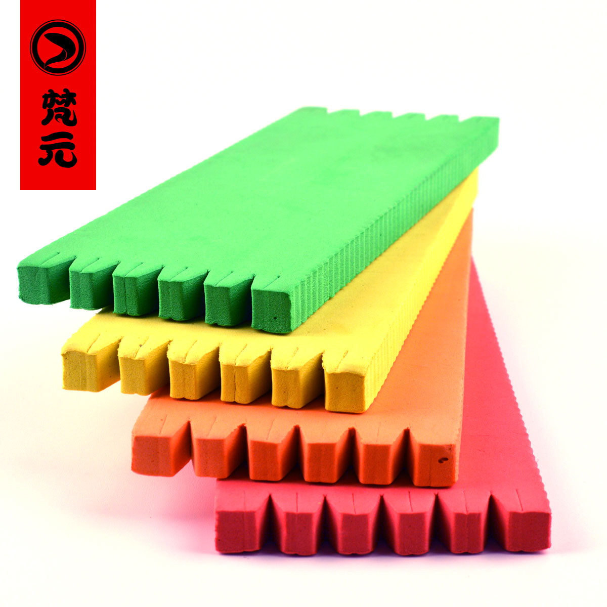 Colorful thread simple tie line board foam board foam board winding plate